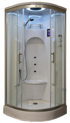 Insignia gt9014 enclosed shower cubicle smart price for Fully enclosed shower