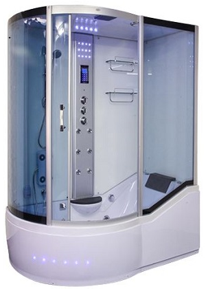 Insignia GT1058R Whirlpool Bath Shower - White