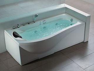 Rectangular Whirlpool Bath