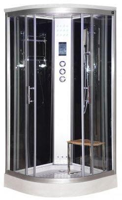 LW10 900mm steam shower