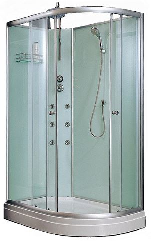 HY1208 1200mm offset shower enclosure