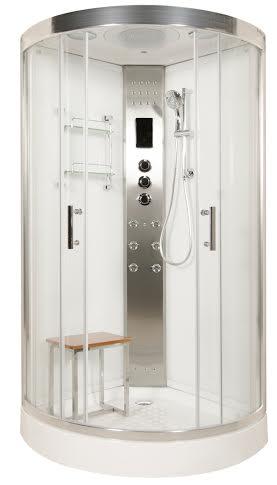LW8 950mm steam shower model