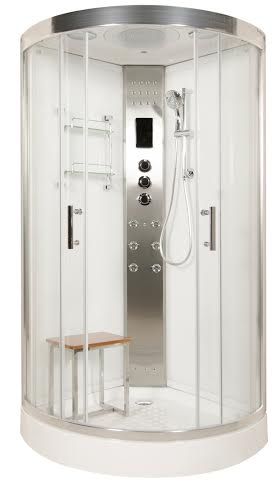 LW8 950mm steam shower model