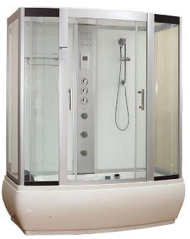 Aeagean 1700 Whirlpool Bath Shower