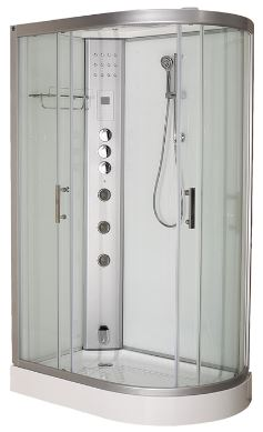 Clearwater 1200L Elongated Steam Shower