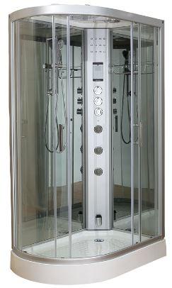 Clearwater 1200R Offset Steam Shower