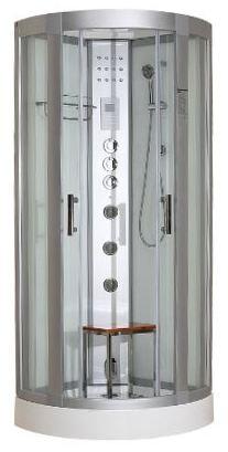Essence 800 Steam Shower Cabin White
