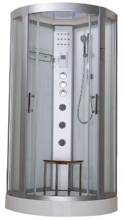Hydro Plus Shower Cabin White