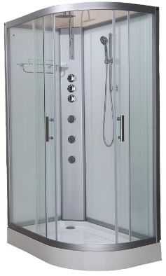 Pure 1200L Offset Shower