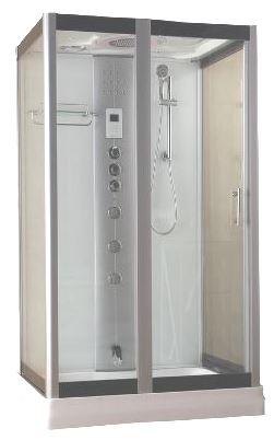 Serenity Rectangular Steam shower