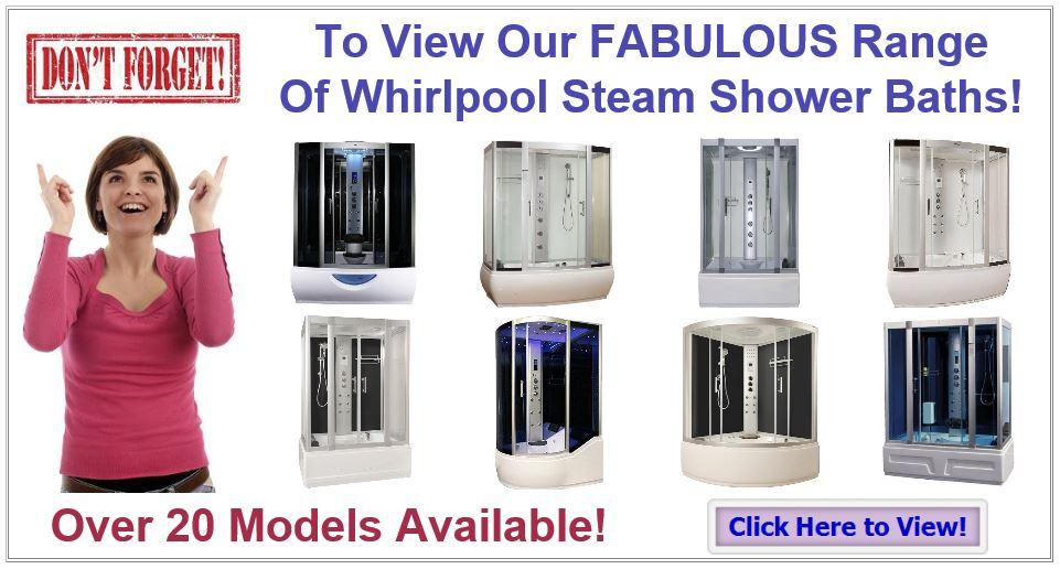 Whirlpool Steam Shower Baths
