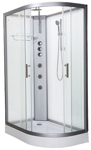 Pure 1200L Offset Shower