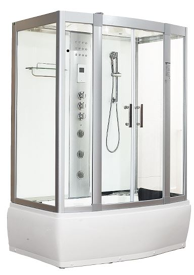 Aegean 1500 Whirlpool Steam shower