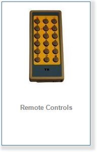 remote controls for steam and shower cabins
