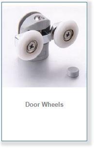 shower door rollers and wheels