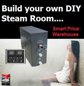 The diy option build your own steam room smart price for Build your own room