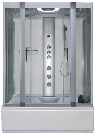 Alto W1 White - Whirlpool Bath & Shower