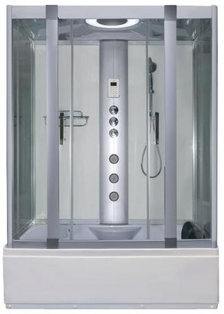Alto W1 White - Whirlpool Bath & Shower