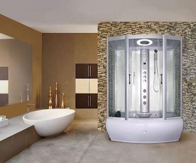 showers - whirlpool bath type