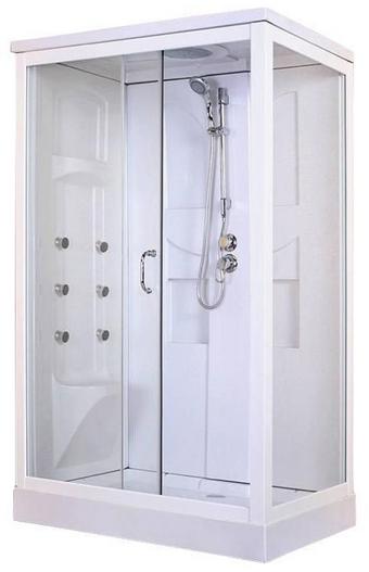HD128 Rectangular Steam Shower