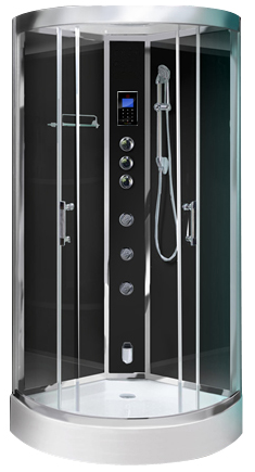 Opus90 Black - Opus 90 Steam Shower