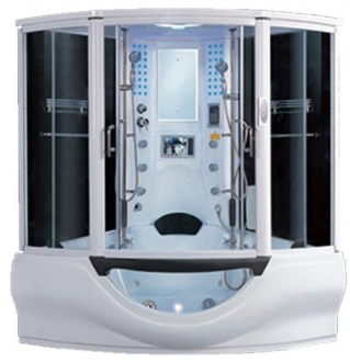 Aquaplus Large Whirlpool Shower Bath Smart Price