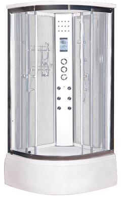 LW4 steam shower pod