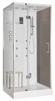 LW5 square steam shower