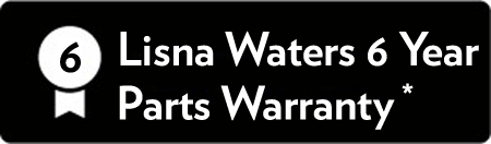 Lisna Waters 6 Years Parts Warranty