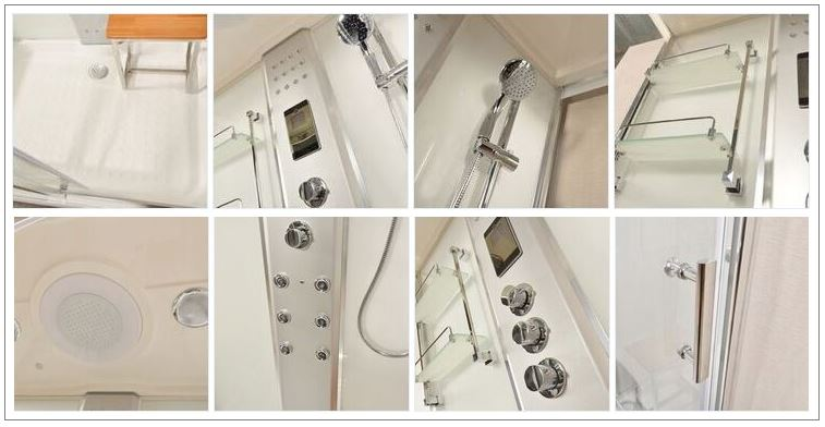 LW9 Shower Features