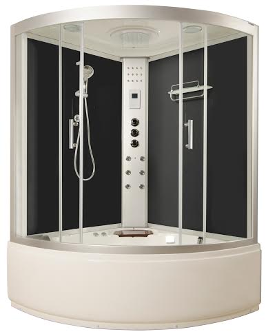 LWS Corner Whirlpool ShowerT