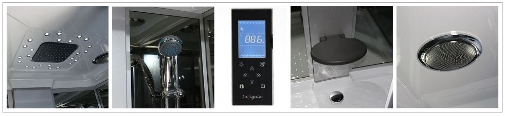 GT002 Shower Features