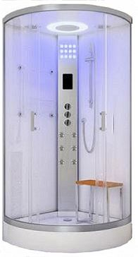 Lisna Waters Shower Cabins - LW11 White