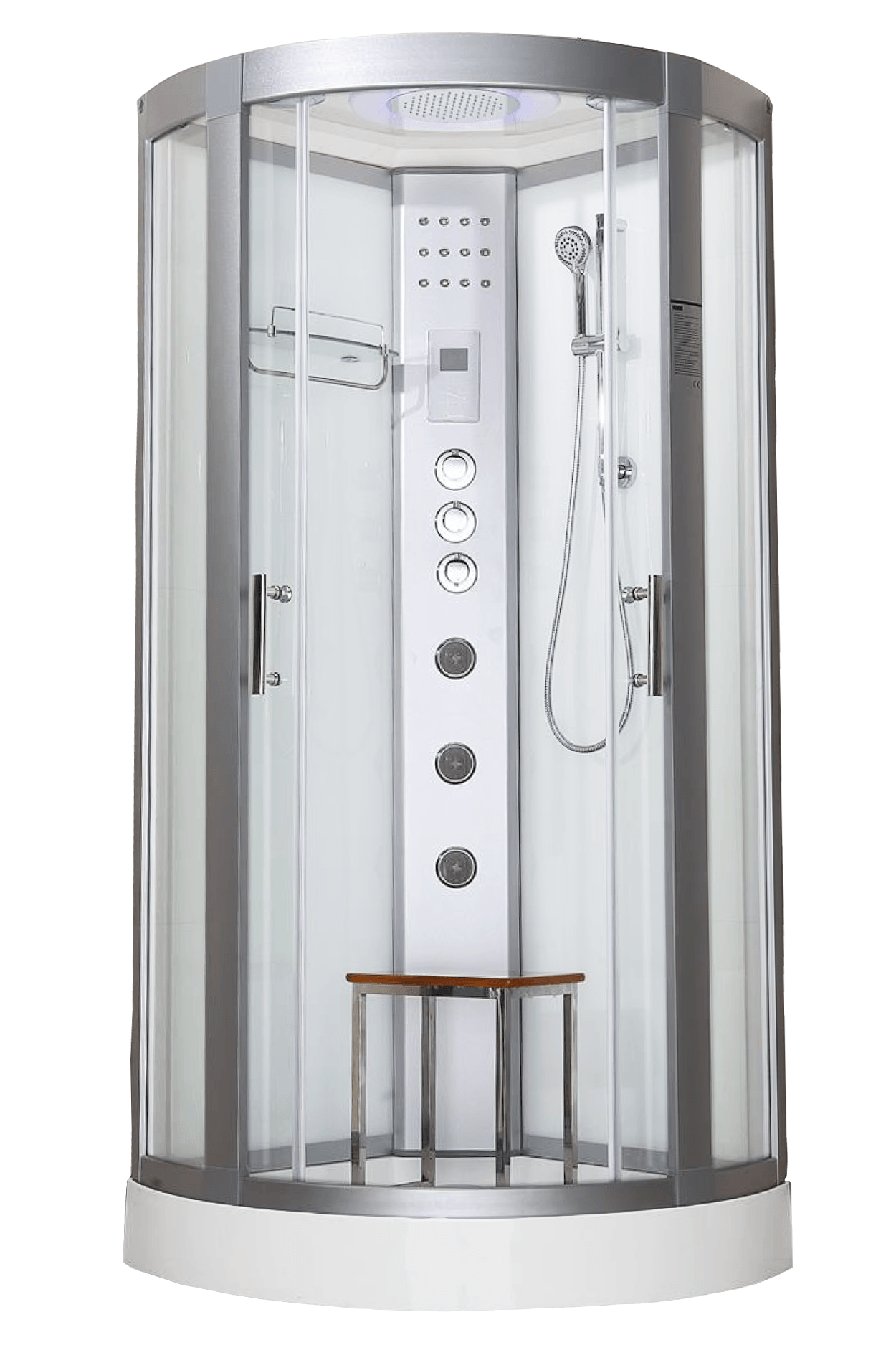 Hydro Plus 900 White Shower