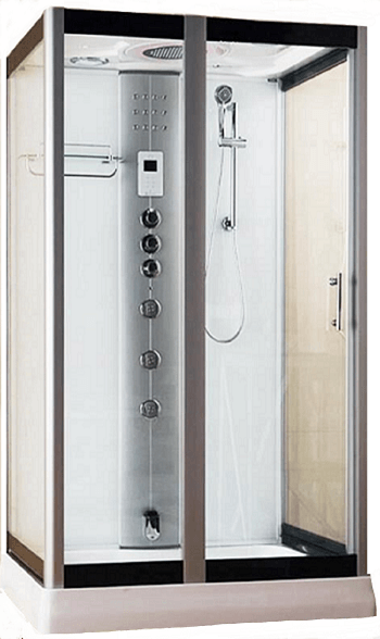 Serenity By Vidalux Rectangular Steam shower