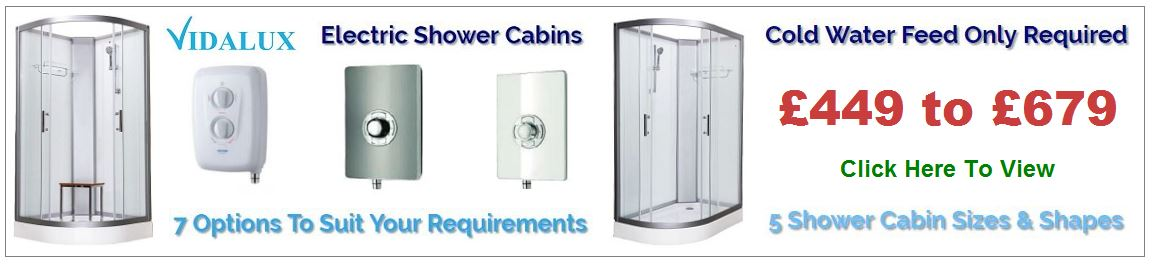 Pure E Electric Shower Cabins