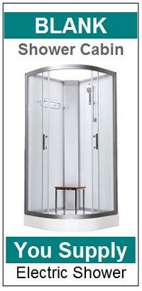 Pure Electric Shower Cabin Blank