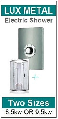Pure Electric Shower Cabin Lux Metal