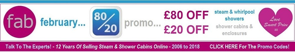 Steam and Shower Cabin Discount Codes