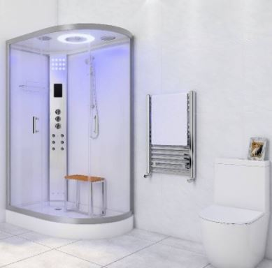 LW18 Elongated Steam Shower
