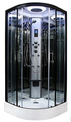 Insignia Shower Cabins - PR8 800 Black Frame