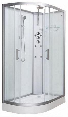Vidalux Shower Cabin - Pure 1200R White