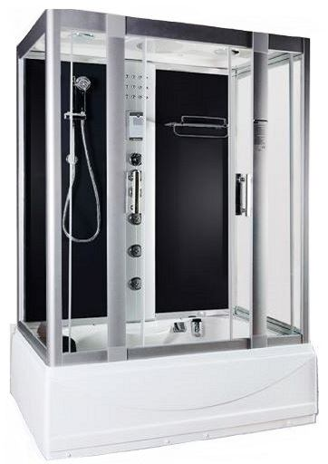 Whirlpool showers - Aegean 1350 Black