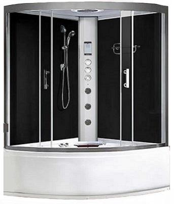 Whirlpool showers - Lisbon 1350 Black