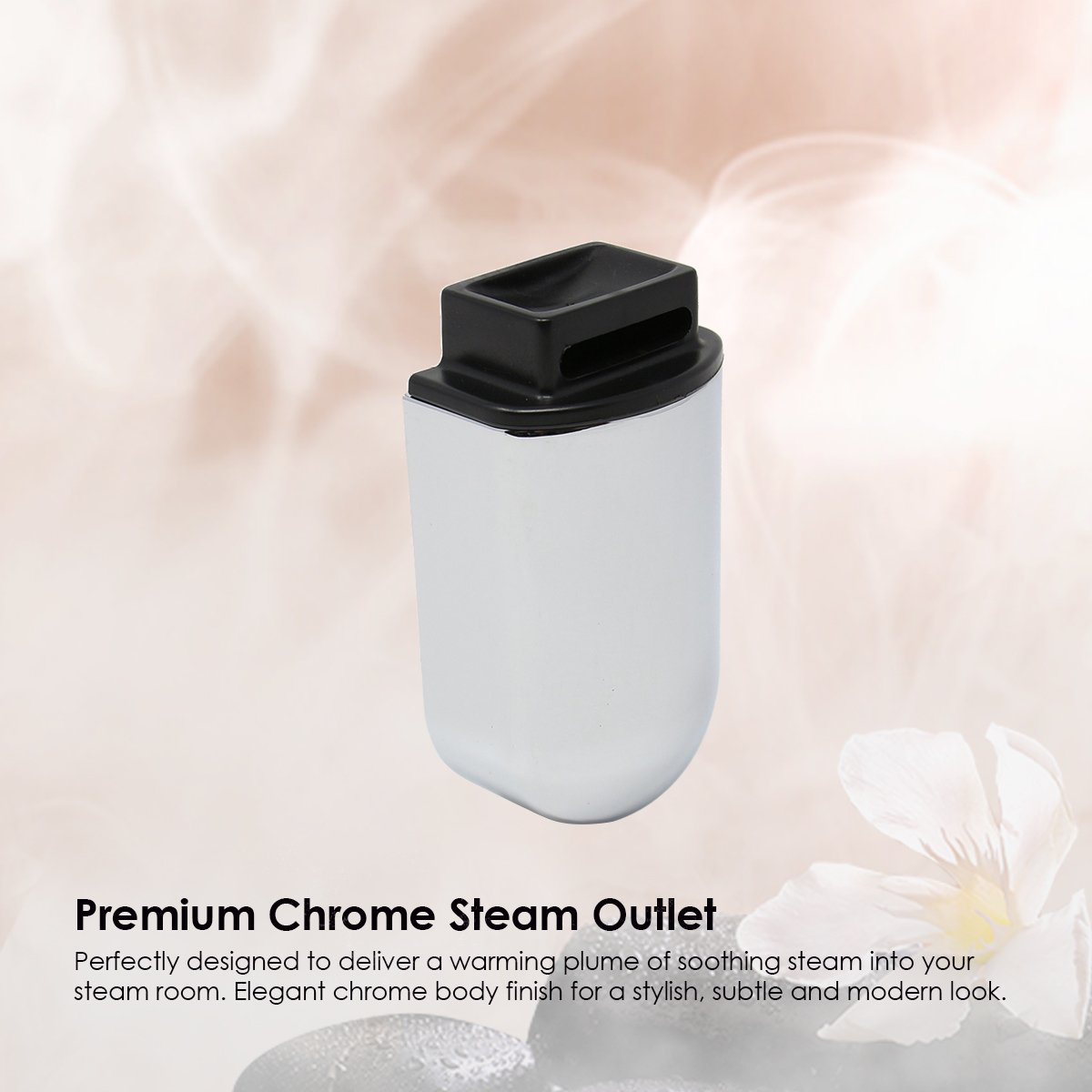 Chrome Steam Outlet