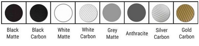 Insignia Matte & Carbon Colours