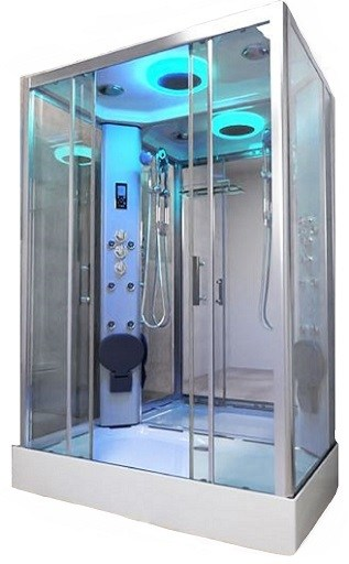 PR14 Twin Shower Cabin
