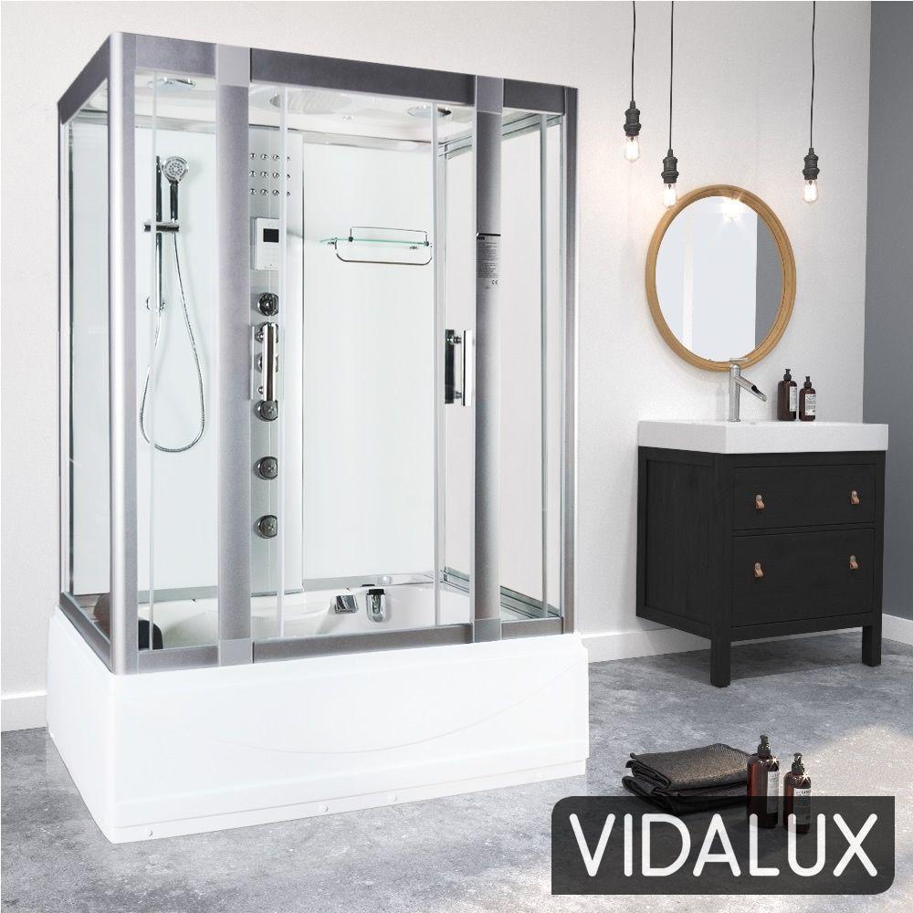 Vidalux Aegean Whirlpool Steam Shower
