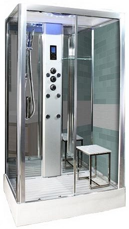 PL105 Steam Shower Chrome