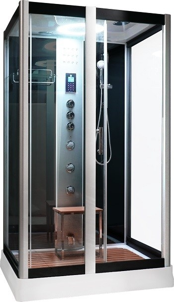 Serenity Steam Shower Black